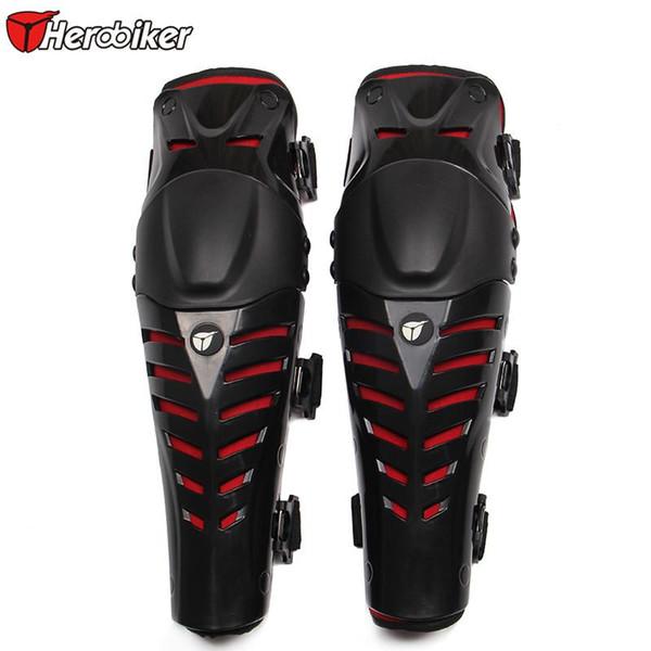 Al por mayor- HEROBIKER Moto Racing Motocross Protection Codo Rodilla Protectora Rodilleras Protector Moto Racing Protective Gear Envío gratis