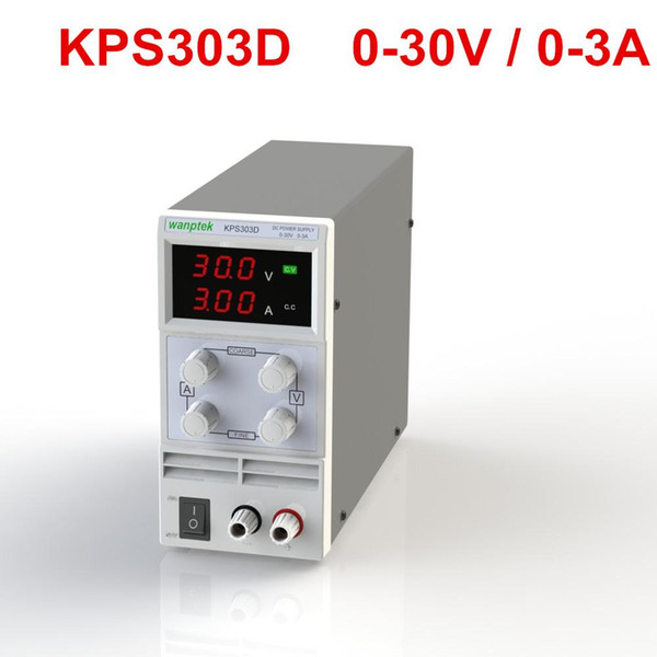 Freeshipping Switching Display 3 Digits LED 0-30V 3A/5A/10A Mini DC Power Supply Precision Variable Adjustable AC 110V/220V 50/60Hz