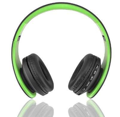Лучшие Продажи Andoer Беспроводные Наушники Цифровые Стерео Bluetooth 4.1 EDR Гарнитура Карта MP3-плеер Наушники FM-Радио Музыка для всех