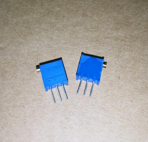 50PCS 3296X-1-503LF 3296X 3296 X 503 50K side regulation Multiturn Trimmer Potentiometer High Precision Variable Resistor ZJ