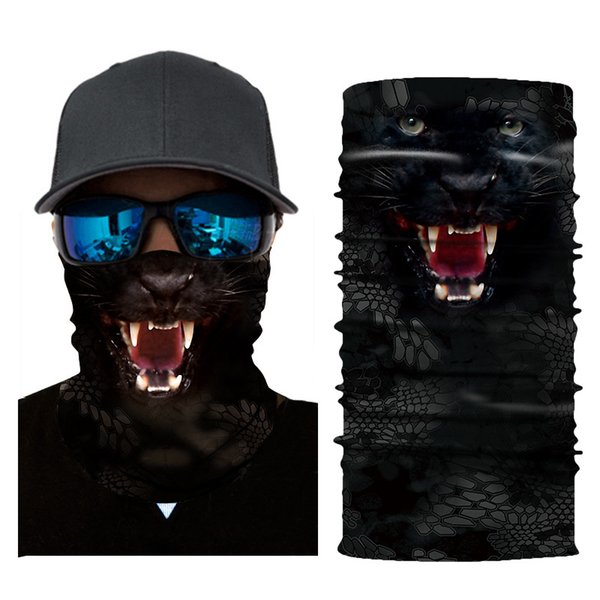 3D Bandanas Animal Mask Sunscreen Coverchief Printing Magic Outdoors Dust Prevention Riding Lovers Couple Multi Color Fashion Hot Sale 8zyf1