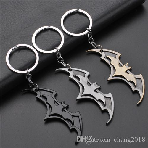 17 styles 2019 New Fashion Avenger Union Batman keychains For Bag Key Holder Charm Hanging pendant Car Key Chains Key Ring Women jssl001