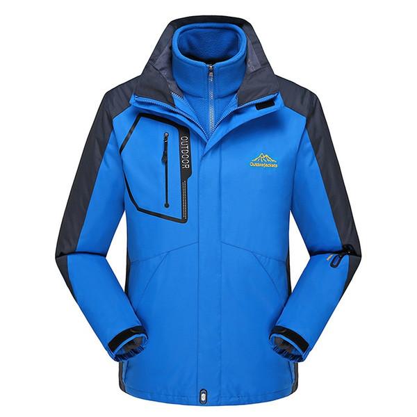 Men Hooded Softshell Waterproof Hiking Jackets Man Keep Warm Windproof Jackets Coat Camping Tactical Windbreaker AA12075