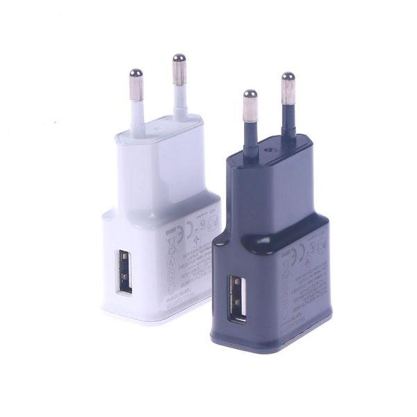 5V 2A USB EU Plug Wall Charger Fast Charging Home Power Travel Adjustor Adaptor