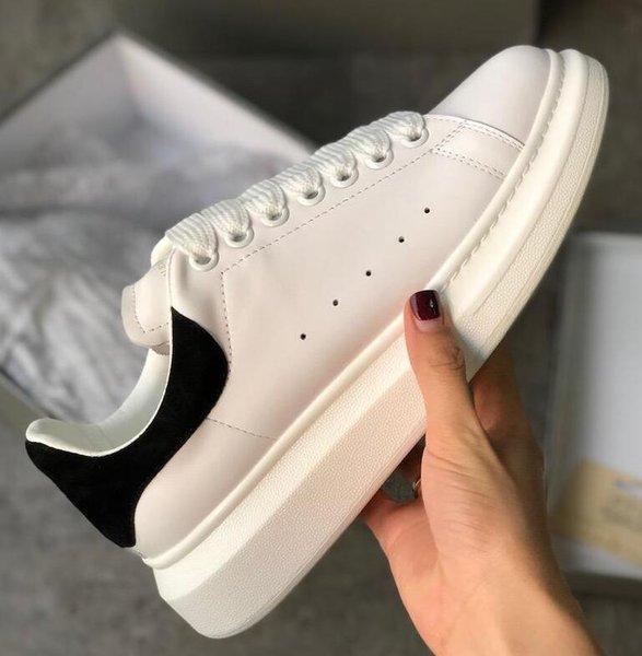 2019 Hommes Femmes Black Velvet Casual chaussures Belle plate-forme Chaussures de sport Chaussures de sport de luxe Designers cuir solide Couleurs formateur