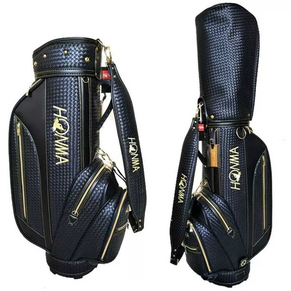 top popular Weaving Golf Bags HONMA Golf Cart Bag High Quality Mens Golf Clubs Bag 2019