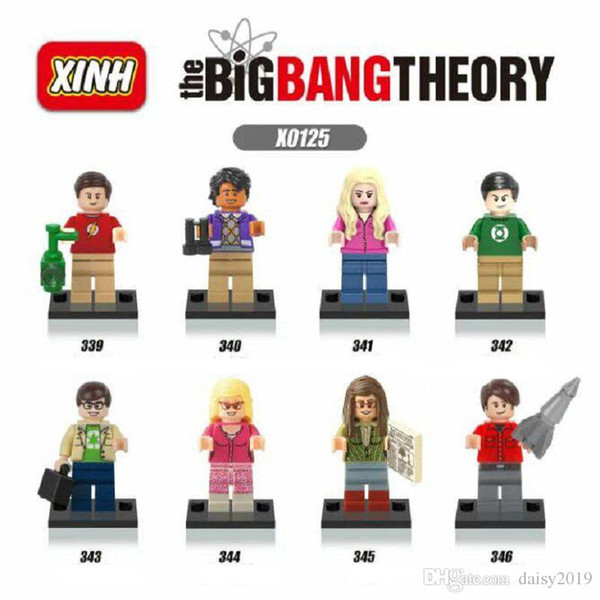X0125 A Teoria do Big Bang TBBT Sheldon Leonard Penny Howard Amy Bernadette Rajesh Leslie Brinquedos juguetes