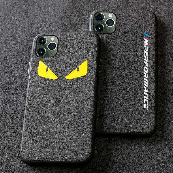 Free Shipping luxury Turn fur car logo bmw performance Phone Case for iphone X XR XS Max 7 6S 8 plus covers for iphone 11 pro max bmw cases