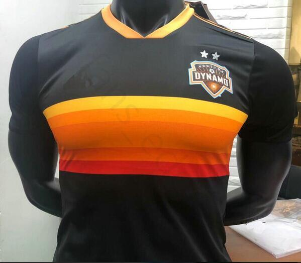 brand new cdb86 7d527 2019 Player Version 2018 2019 Houston Dynamo Soccer Jersey Martinez Manotas  Elis Beasley Cabezas Custom Black 18 19 Football Shirt From Ggg558, $16.25  ...