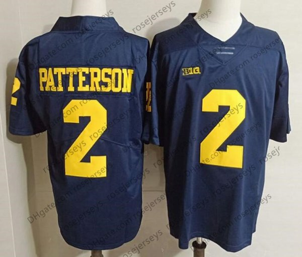 2 Shea Patterson Navy Blue