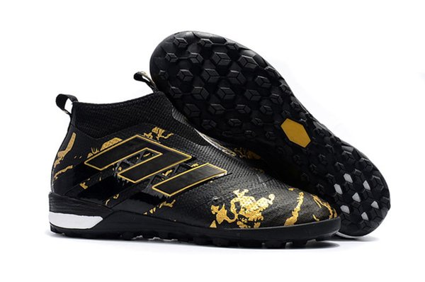 Le football en salle 2019 d'or noir de Tf Messi a la chaussure Ace Tango 17 Purecontrol Tf 35-45 Tf / ic