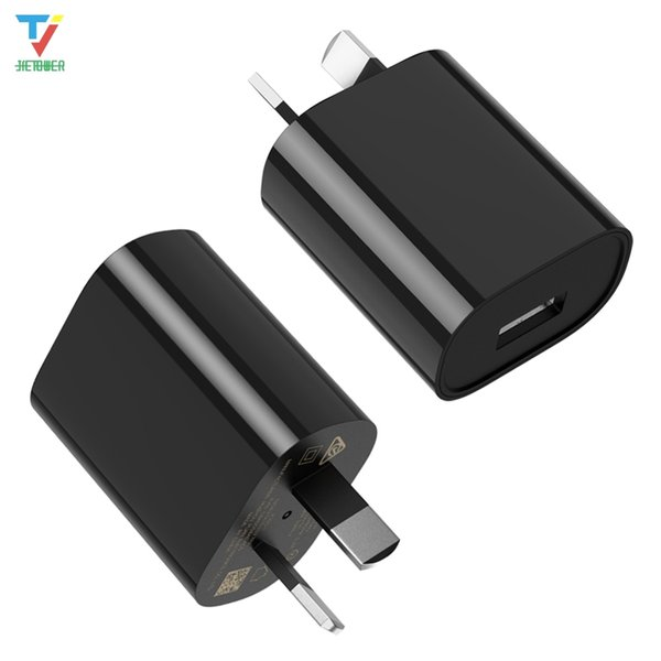 USB Power Adapter 5V 1A AU Plug Wall Charger For iPhone XS X 8 Samsung Xiaomi Huawei Smart Phone 100pcs/lot