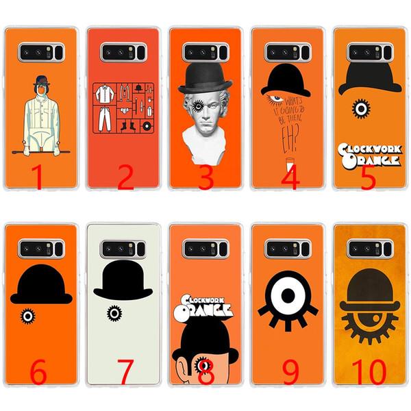 A Clockwork Orange Fashion Soft Silicone Phone Case for Samsung Note 9 8 S7 Edge S8 S9 Plus Cover