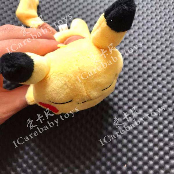 16 cm Carino Pikachu Peluche Kawaii Personaggi Anime Ripiene Morbido Bambola Bambini Giocattoli Per Bambini Compleanno Regalo Di Natale decorazioni per la casa