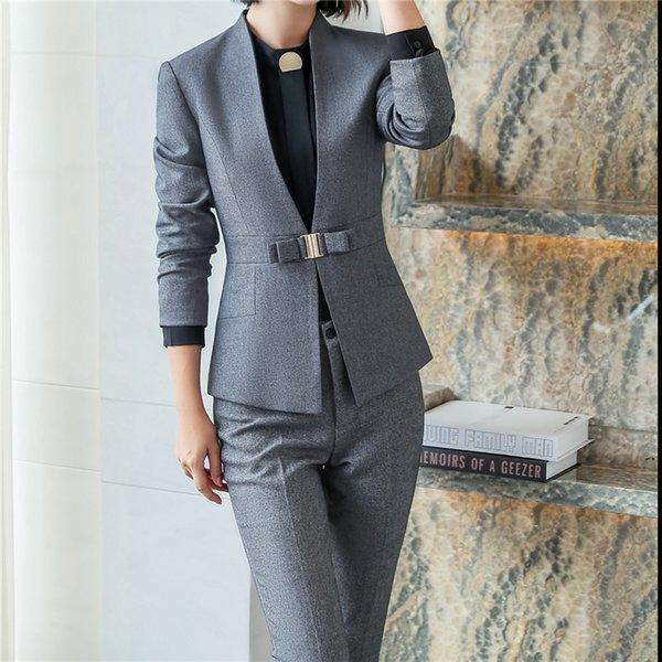 Costume pantalon gris