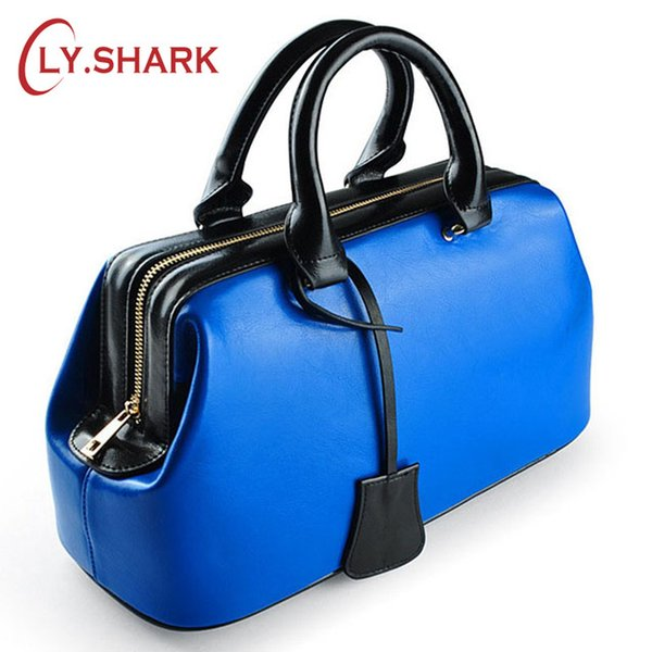 purse and handbags LY.SHARK Summer For 2019 Luxury Handbags Women Bags Designer Ladies Hand Bags Doctor Genuine Leather Bag