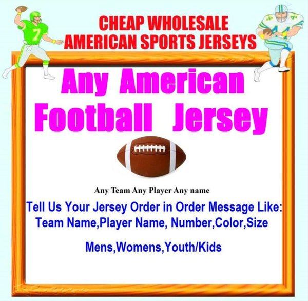 All Stitched Custom american football jerseys Cleveland Dallas college authentic cheap baseball basketball mens womens youth USA 4xl shop