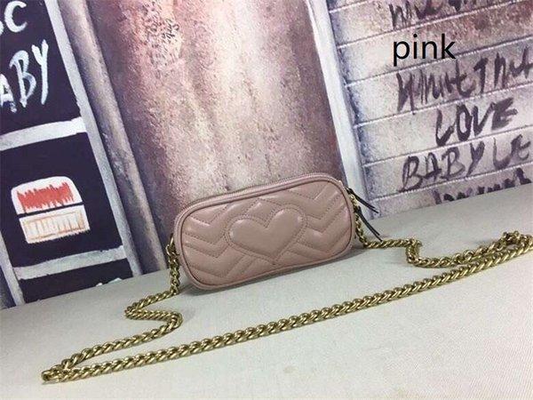 Nouveau style sac à bandoulière Pu chaîne de mode en cuir Sac à bandoulière Pure Color pour dames Sac à main Sac à bandoulière