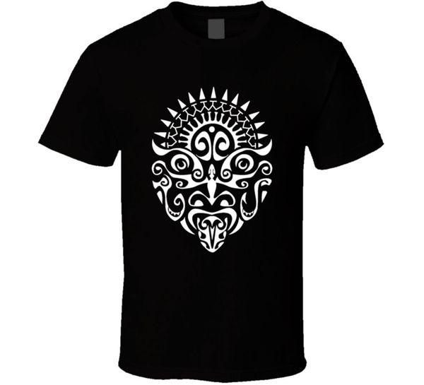 Maori Warrior Tattoo Face New Zealand Haka Cool Fan T ShirtFunny free shipping Unisex Casual Tshirt