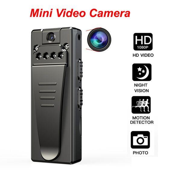 Mini Caméra Enregistreur Vidéo HD 1080P Caméscopes Numériques DVR Vision Nocturne En Boucle Enregistrement Dash cam Baby Monitor voiture dvr