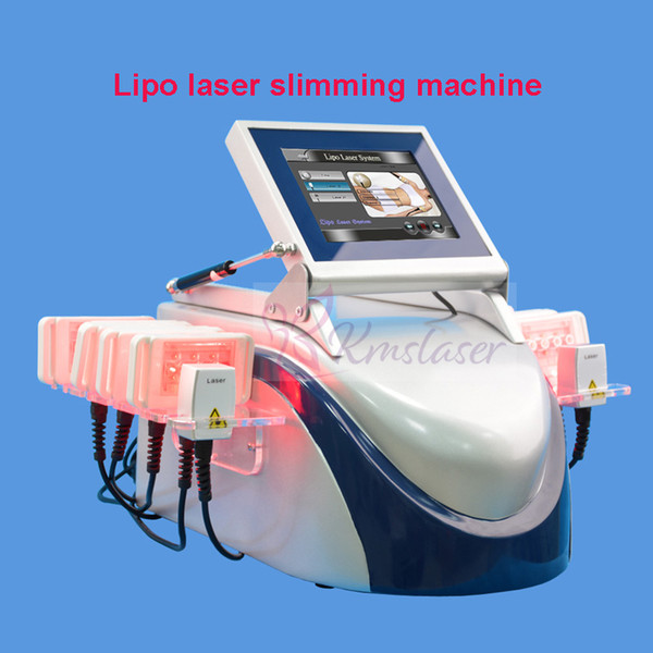 Lipo Laser Slimming Machine Liposuction Lipolaser Machine Body Shaping Fast Weight Loss Device Laser Diodes Fat Removal Machine For Sale