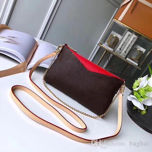 Наклонная сумка на плечо Сумка на одно плечо Цепная сумка для дизайнерских сумок Single topLuxury Наклонная сумка на плечо модной известной женщины 3AA
