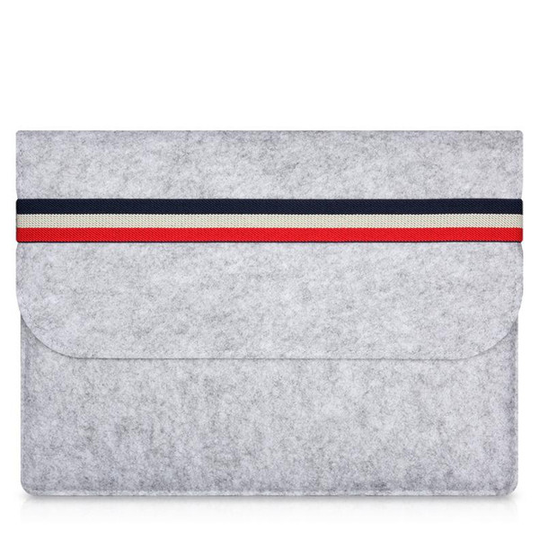 Macbook air woolfelt capa protetora case para apple macbook air pro retina 11 13 polegada, bolsa para laptop mac sacos para mac 11.6 13.3 polegada
