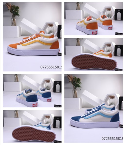 Yüksek kaliteli Rahat yönlü tahta ayakkabı Rahat Ayakkabı Düşük Kesim ayakkabı erkekler Ayakkabı adam Stil 36 Low Cut sneakers eski skool 2019