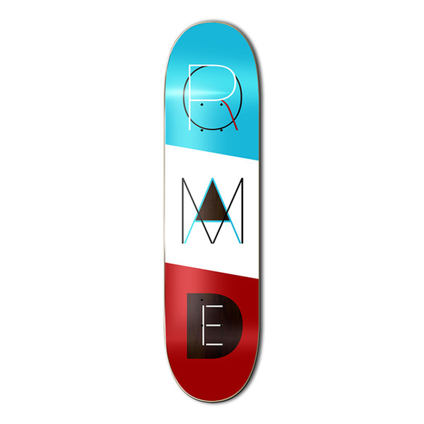 "SIZE7.875""-8.25""PROMADE skateboard deck made in MEXICO by quality canadian maple for Pro skateboarding or skaters"
