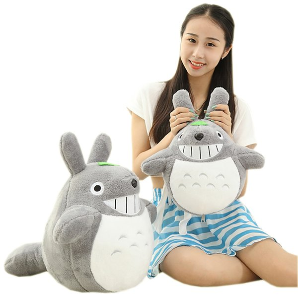 Sitting Height 35Cm Lovely Totoro Plush Animals Toys Stuffed Doll High Qulity Kawaii Movie Character Cartoon Soft Kids Toys Gift