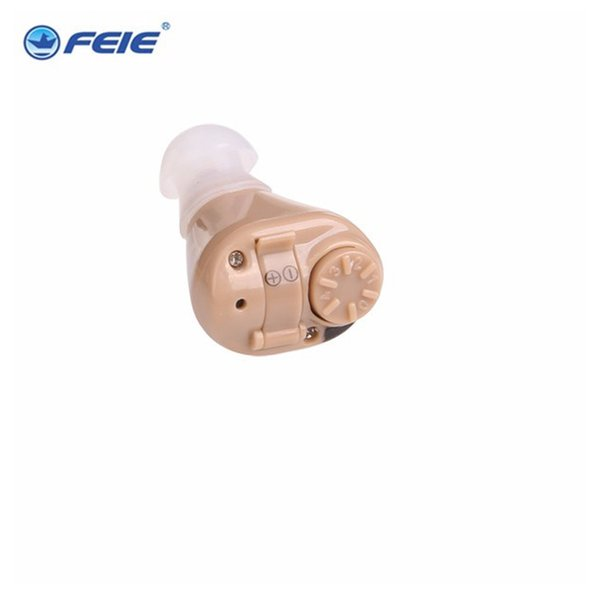 New Adjustable Mini Small Invisible Sound Amplifier Hearing Aids In Ear Sound Enhancement Deaf Aids medical equipment fast shipping S-218