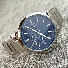 Steel blue dial