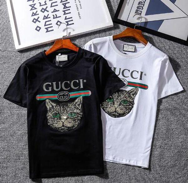 Nuevo verano mujer hombre camiseta casual Niños niñas camiseta manga corta impresión tops camisetas T # 226