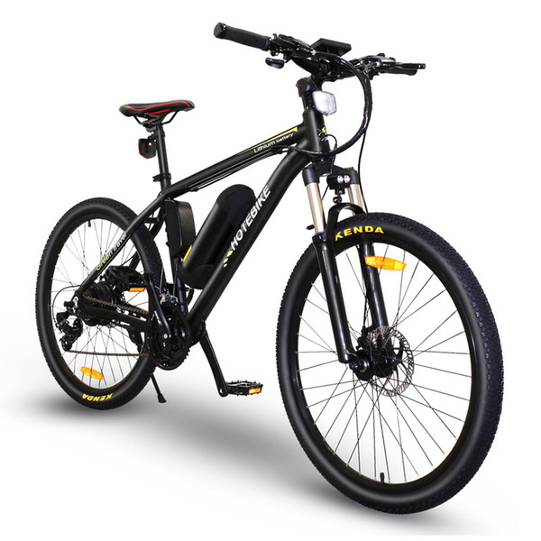 best selling Free shipping Classic Style 36v 350w 26'' mountain e-bike electric bicycle for United States