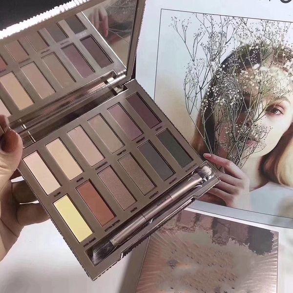 HOT Makeup ULTIMATE BASICS Lidschatten Matte Farben Matte Eye Shadow 12 Colori Eyeshadow Palette DHL spedizione gratuita