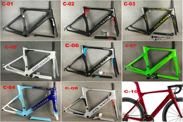 2019 new colnago concept frame carbon frame et road bike frame carbon bicycle black color de ign frame et