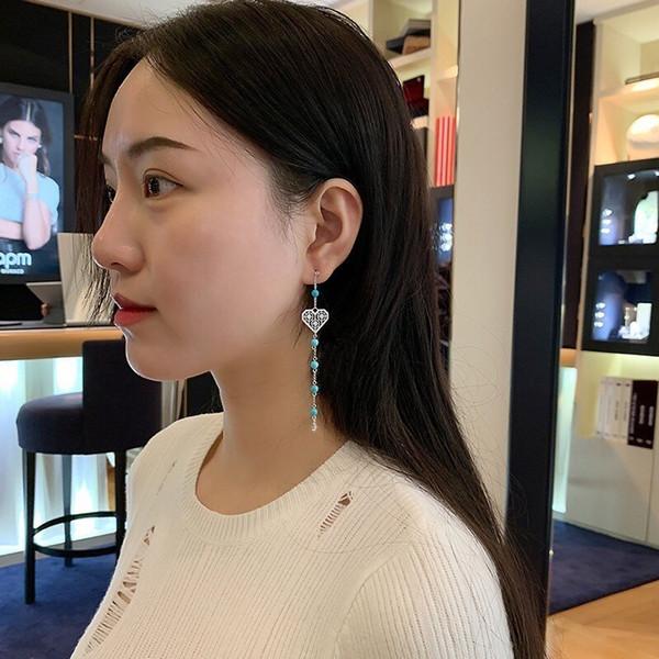Pendientes Accesorios para damas Nuevos diamantes joyas Diosa plata esterlina Pendientes pequeños para Austria Cristal dorado lleno