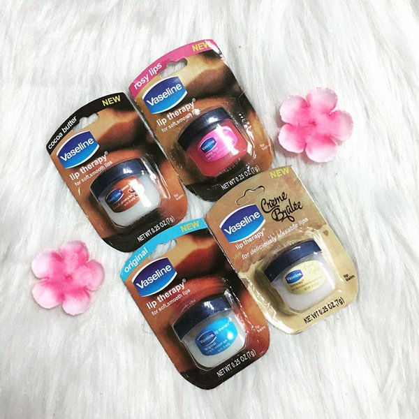 EPACK Makeup Vaseline Lip therapy cocoa butter for soft glowing rosy lips Hydrating Petroleum jelly moisturizing Lip balm lip cream