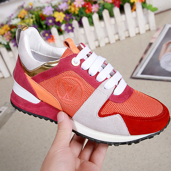 Run Away Sneaker Womens Shoes Outdoor Walking Soft Footwears Fashion Comfortable Shoes Lace-up Low Top Casual Women Shoes Chunky Sneakers