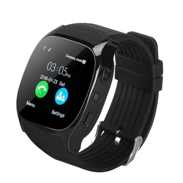T8 GPS Smart Watch Bluetooth Passometer Watch Sports Activities Tracker Smart Wristwatch With Camera Clock SIM Slot Watch For IOS Android