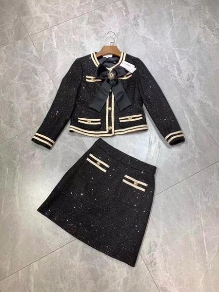women two piece outfits women jackets coats skirt 2pcs sets two piece dress**5d1716ce6f616b10b8e7e6be