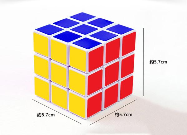 Brinquedos de desenvolvimento educacional para crianças 3 * 3 * 3 Jogo clássico Rubik's Cube Holiday família brinquedo interativo Presente de aniversário de férias Rubik's Cube