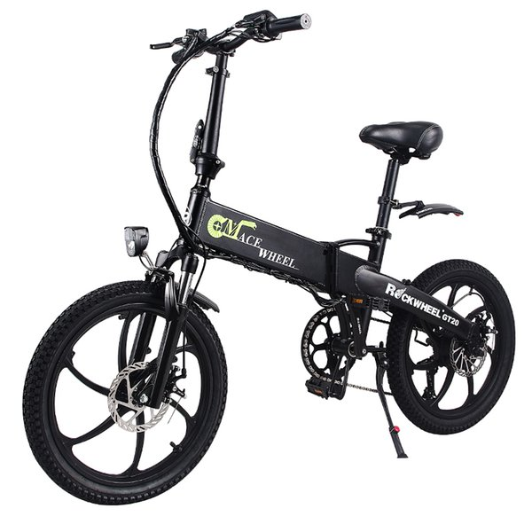 best selling Electric bicycle aluminum alloy 20 inch 48V10AH scooter moped folding lithium hidden battery