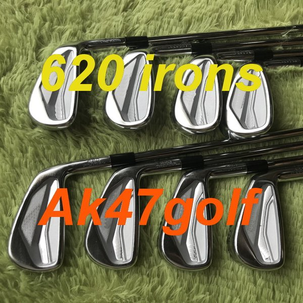 2020 new golf iron 620 iron forged et 3 4 5 6 7 8 9 pw with dynamic gold 300 teel haft 8pc golf club
