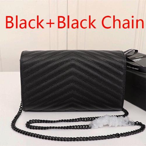 Черный + Черная цепь(поставляется с Y_S_L)