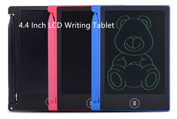 LCD 4.5 inch Writing Tablet Led writing board Blackboard Handwriting Pads Paperless Notepad Whiteboard Memo With Upgraded Pen hot DHL free