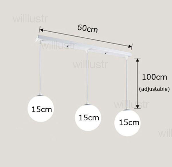 15cm و * مل 3pcs، مظلة طويلة