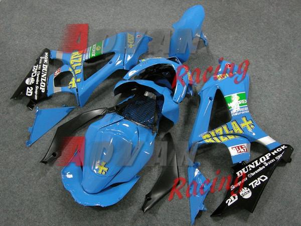 3Gifts High quality New ABS motorcycle fairings fit for Suzuki GSXR1000 K7 2007 2008 GSXR-1000 07 08 fairing kits custom blue RIZLA+