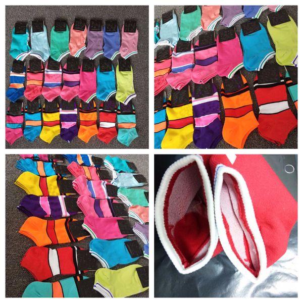 Con il pacchetto calzini adulti ad asciugatura rapida Unisex Calzino corto Cheerleader Calzini sportivi Adolescenti Calzini alla caviglia Multicolore Formato libero