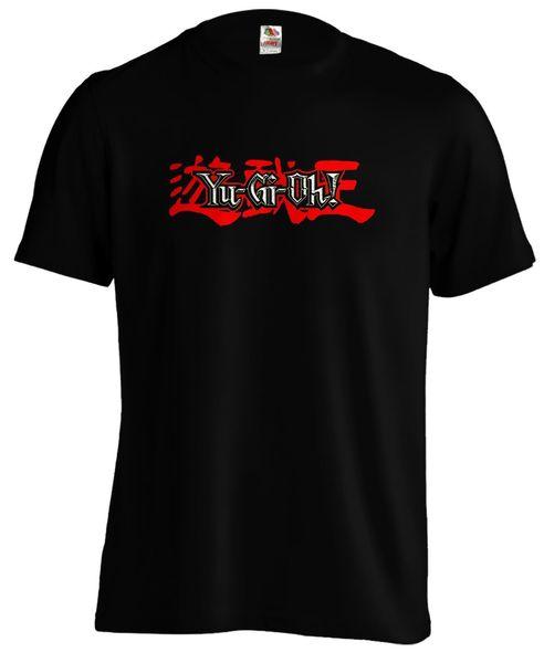 Yugioh Logo Yu Gi Oh Card Game Blue Eyes Silver Dragon T shirt Tee Funny free shipping Unisex Casual Tshirt top